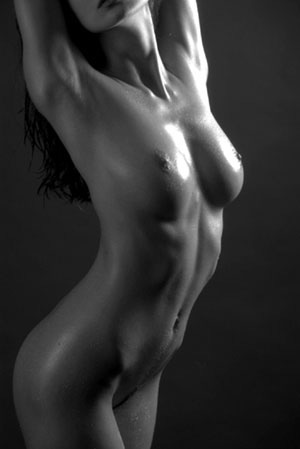 Naked Female Torso 112
